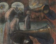Armando Morales, Sueño en la madrugada IV, 1983