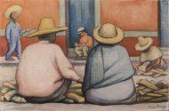 Diego Rivera, Vendedores de leña, 1935