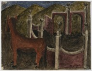 Izquierdo, Horse with Arches