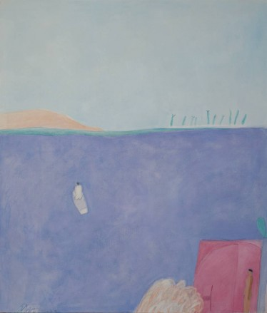 Joy Laville, Man Leaving in a Boat
