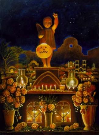 Noche de muertos en Oaxaca