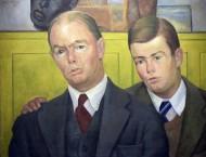 Rivera, Portrait of John and Walter Stratton