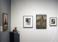 Installation shot of the gallery's booth at The Art Show 2019