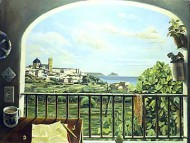 Balcony with View of Altea