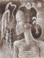 Untitled (Balinese Girl)