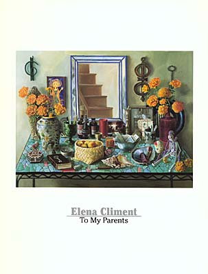 Elena Climent: To My Parents