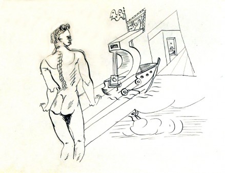 Untitled (Nude with Boat)