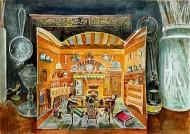 Kitchen Scene in Dark Studio