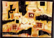 Paisaje Negro-Amarillo-Naranja-Rojo
