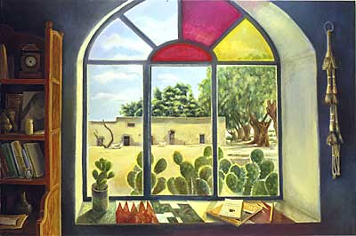 Window with Ranch in Coahuila