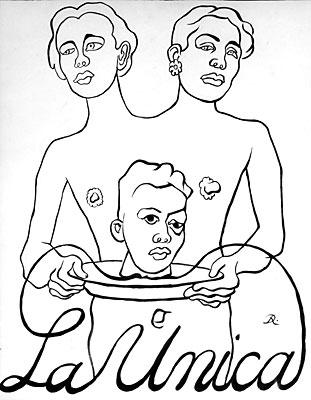 Illustration for 'La Única'