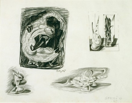 Untitled (Four Drawings)
