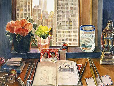 Study with View of SoHo