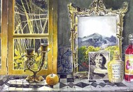 Window and Mirror in Tepoztlán